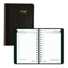 Brownline Ecologix Daily Appointment Book 8