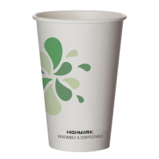 Highmark Compostable Hot Coffee Cups 16