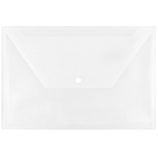 JAM Paper Plastic Booklet Envelopes With