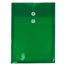 JAM Paper Open End Plastic Envelopes
