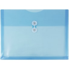 JAM Paper Booklet Plastic Envelopes With