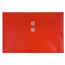 JAM Paper Booklet Plastic Envelopes With