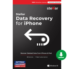 Stellar Data Recovery For iPhone Windows