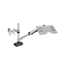 VARIDESK Monitor Arm And Laptop Cradle