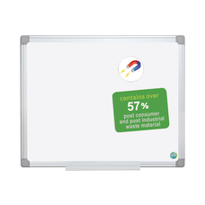 MasterVision Earth Platinum Pure White Magnetic
