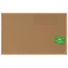 MasterVision Earth Cork Board With Fiberboard
