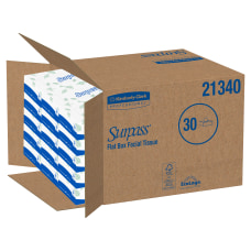 Surpass 2 Ply Facial Tissue 8