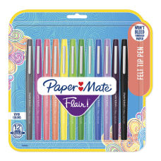 Paper Mate Flair Tropical Vacation Felt