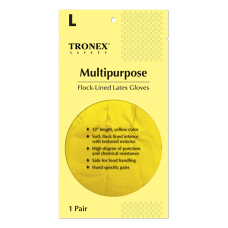 Tronex Flock Lined Rubber Latex Multipurpose