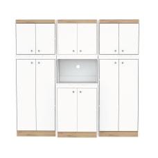 Inval Galley 3 Piece Kitchen Storage
