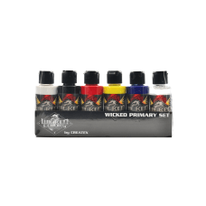 Createx Wicked Airbrush Color Set Primary