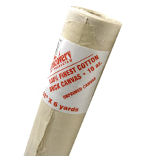 Discovery Unprimed Cotton Canvas Roll 52
