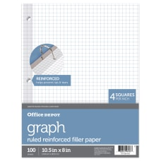 Office Depot Brand Reinforced Filler Paper