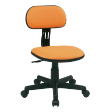 Office Star Student Task Chair Orange