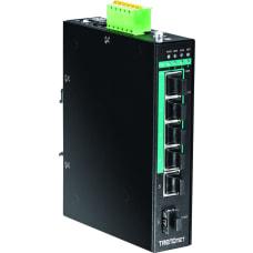 TRENDnet 5 Port Hardened Industrial Gigabit