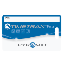 Pyramid TimeTrax Prox Badges Pack Of