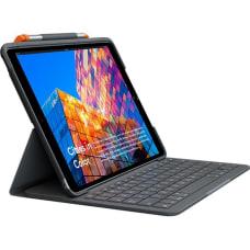 Logitech Slim Folio KeyboardCover Case iPad