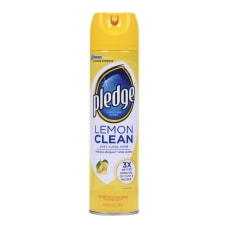 Pledge Lemon Clean Furniture Polish 97