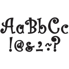Teacher Created Resources Bling Letters With