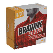 Brawny Heavy Duty Industrial Wipes Box