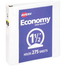 Avery Economy View 3 Ring Binder