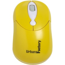 Urban Factory USB Crazy Mouse Yellow