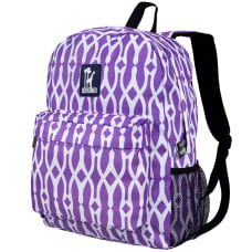 Wildkin Crackerjack Laptop Backpack Wishbone Purple