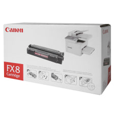 Canon FX 8 Black Toner Cartridge