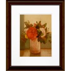 Timeless Frames Floral Katrina Brown Wall