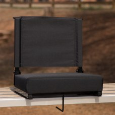 Flash Furniture Grandstand Comfort Seat Black