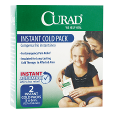 CURAD Instant Cold Packs 5 x