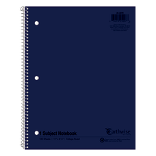 Ampad Oxford Earthwise Recycled 3HP Notebooks