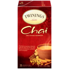 Twinings Chai Tea Bags 176 Oz