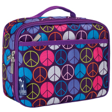 Wildkin Polyester Lunch Box Purple Peace