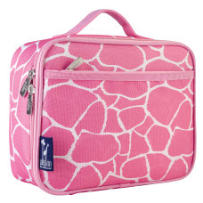 Wildkin Polyester Lunch Box Pink Giraffe