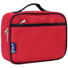 Wildkin Polyester Lunch Box Cardinal Red