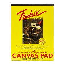 Fredrix Canvas Pad 12 x 16