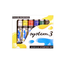 Daler Rowney System 3 Acrylic Paint