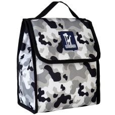 Wildkin Munch N Lunch Bag Gray