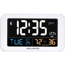 AcuRite Intelli Time Clock with Indoor