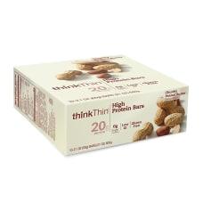 thinkThin High Protein Bars Chunky Peanut