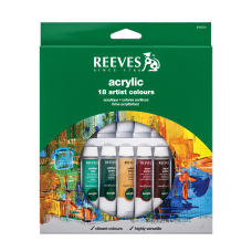 Reeves Acrylic Paint Set 034 Oz