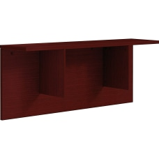 Lorell Prominence 20 Mahogany Laminate Reception