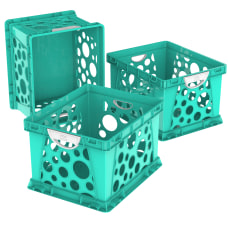 Storex File Crates With Handles Medium