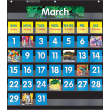 Scholastic Teacher Resources Pocket Chart Monthly