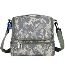 Wildkin Double Decker Lunch Bag Digital