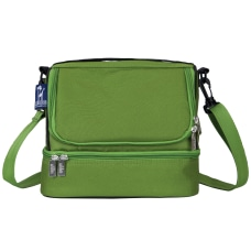 Wildkin Double Decker Lunch Bag Parrot