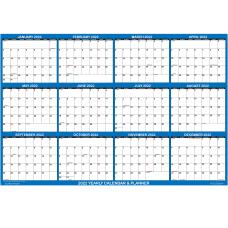 SwiftGlimpse Erasable Yearly Wall Calendar 36
