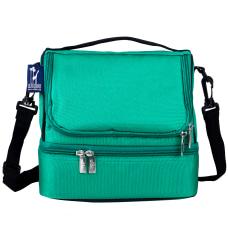 Wildkin Double Decker Lunch Bag Emerald