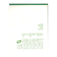 Grafix Matte Acetate Film Pad 19